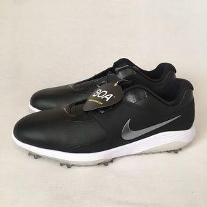 NWOB Nike Vapor Pro Wide Mens Golf Shoes Black